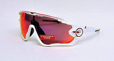 OAKLEY JAWBREAKER Polished White Prizm Road OO9290-18 TOUR DE FRANCE COLLECTION