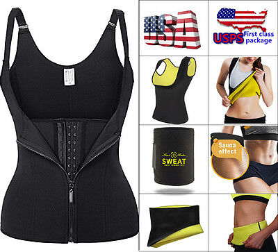 Women Body Shaper Slimming Waist Trainer Cincher Underbust Corset Shapewear USA