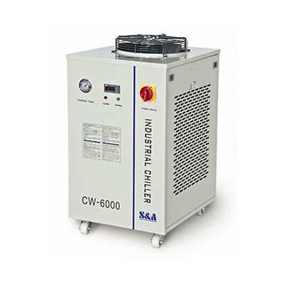 220V, 50HZ S&A CW-6000AH Industrial Water Chiller for 100W or 80W CO2 Laser Tube