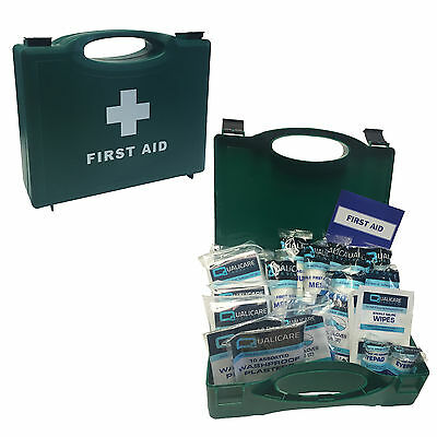 Qualicare Pro Essential Small 1-10 Person Catering Kitchen HSE First Aid Kit Box