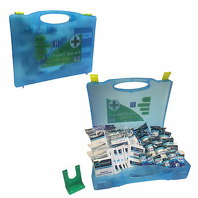 Large 1-50 Person Qualicare Essential Premier Blue Catering First Aid Kit Box