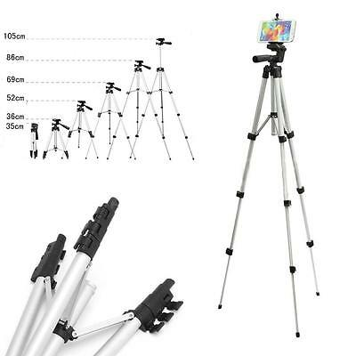 Smart Phone Professional Camera Tripod Stand Mount Holder For iPhone Samsung LH