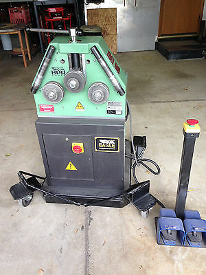 Eagle Roll Bender Cp30Em With Roller Stand And Extra Tooling