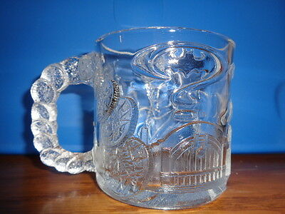VINTAGE MCDONALD'S 1995 BATMAN FOREVER GLASS MUG, Great condition