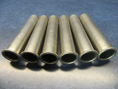 Lot Of 6 Iec Centrifuge Swing Rotor Bucket Tubes Cat 325 40.5 Gms