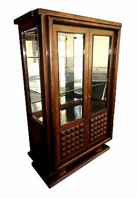 Vitrine Bibliothèque  Gaston Poisson Art Deco /  Showcase Bookcase