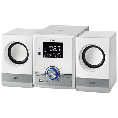 AEG Minicadena CD/MP3/USB/BT MC4461 Blanco