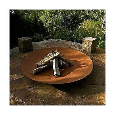 Large Steel Bowl Burners Fire Pit With Rush Affect. outdoor Log Burner