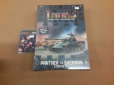 Flames of War Gale Force 9 Tanks Panther vs Sherman Starter set