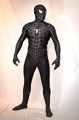 Movie Replica Spider-Man 3 Symbiote Cosplay Comic-Con Costume