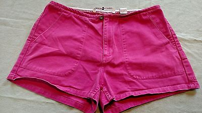 VTG TOMMY HILFIGER Women's Shorts - Pink Denim - Size 12