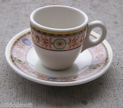 Hotel New Yorker Lamberton Scammell Demitasse Cup & Saucer China