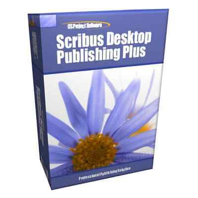 Desktop Publisher Publishing 2003 2007 2010 for Microsoft MS Windows Software
