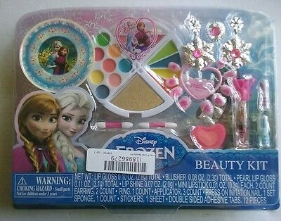 """Disney Frozen JEWELRY & MAKE UP Beauty MADE For Kids + 5+  """"read detail"""