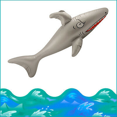 Blow-up Shark Inflatable Kid's Party Pool Beach Fun Fancy Dress Play 35Inch Fish