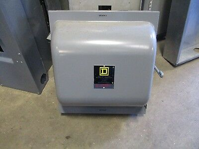 Square D 92453, 100 Amp 4 Pole 240 Volt Manual Transfer Switch- Ats270