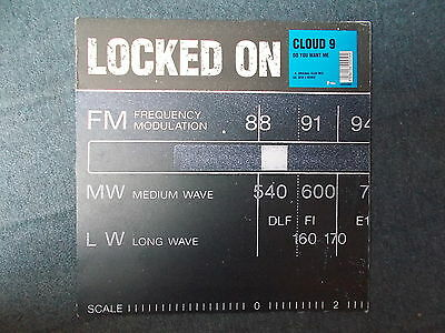 "Cloud 9 Do You Want Me 12"" Locked On 1998 LOCKED005"
