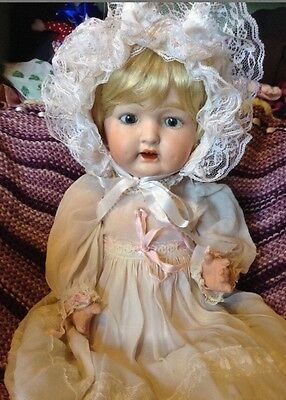 Antique Morimura Brothers Bisque Baby Doll-Free Ship