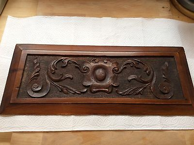 Nice Old Carved Wooden Panel