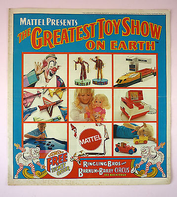 Mattel Greatest Toy Show On Earth Catalog-16 Pages-1971-Barbie, Hot Wheels, Etc