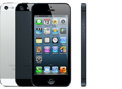 Apple iPhone 5 - 16GB/32GB - Black or White - Unlocked - Good Condition