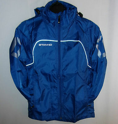 Bnwt Stanno Boys/youth Shower/rain Hooded Jackets Age 7-8 Yrs 128 Cm £££ Slashed