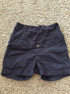 H&M Mama Maternity dark blue/navy shorts size 6 US