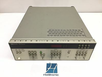 HP 8131A Pulse Generator 500 MHz Option: 1*020