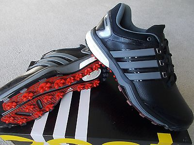 Mens Adidas Golf Shoes Trainer Style Adipower Boost Wd Wide Waterproof Uk11 Eu46