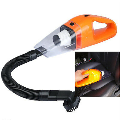 Top In-Car 12V 120W Portable Wet & Dry Car Home Mini Handheld Vacuum Cleaner New