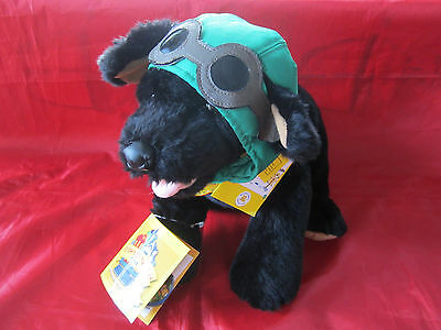 NWT Build A Bear Black Lab Retriever Plush Bearemys Kennel Pals