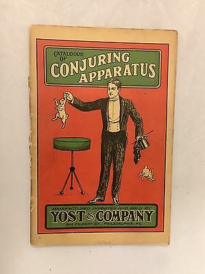Catalogue of Conjuring Apparatus Sold by Yost & Co. PA. Early Magic Catalogue