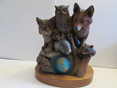 J.H.  Boone Sculpture 1994 Earthsong, Limited Edition, T. Snyder