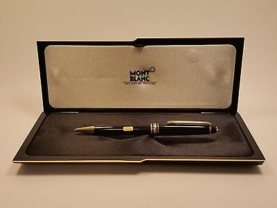 Montblanc Meisterstuck Classique Black & Gold with 18K GP Trim 164 Ballpoint Pen