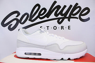new product 176c5 31d2d Nike Air Max 1 Ultra 2.0 Essential White Pure Platinum 875679 101 Sz 10.5