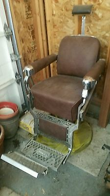 Belmont Vintage Barber Chair-1950's