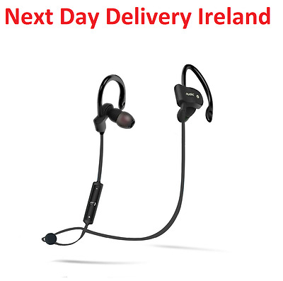 Wireless Sport Gym Sweatproof Bluetooth Earphone Headphone Earbud Mic Headset