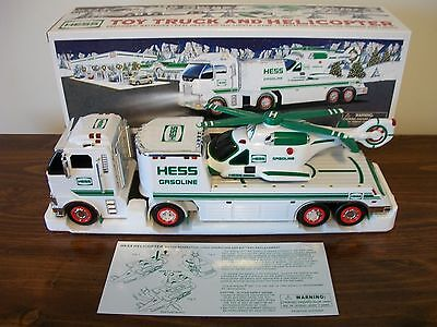 Hess 2006  Toy Truck and Helicopter NEW
