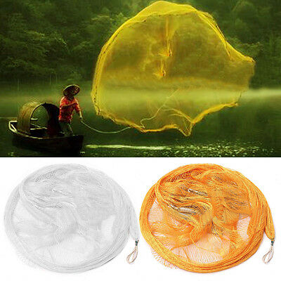 2.2m Nylon Monofilament Fish Gill Net for Hand Casting Fishing Tackle New