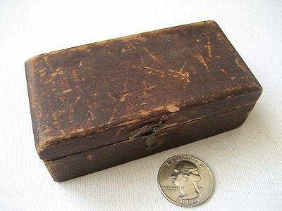 Vintage Brass Gram Weight Set in Wooden Box