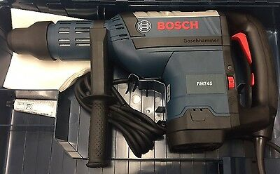 Bosch RH745 13.5 Amp 1 3/4-in SDS-Max Corded Rotary Hammer Brand New