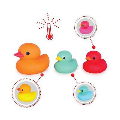 NEW Tolo Toys Blushing Colour Changing Bath Ducks – Set 3 - Baby Bath Toys