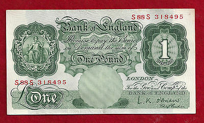 Great Britain 1 Pound Note 1960-61 (ND)  P-374a