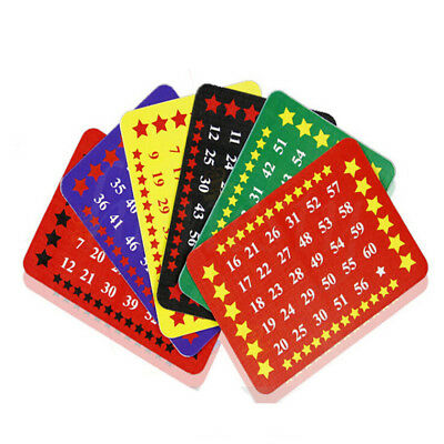 6pcs Card Age Number Guess Magic Trick Mental Mind Tell Effects Work Maths Toys