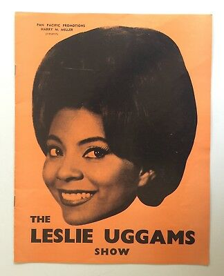 The Leslie Uggams Show 1960's Australian Stage Show Jimmy Hannan Duo Revelle