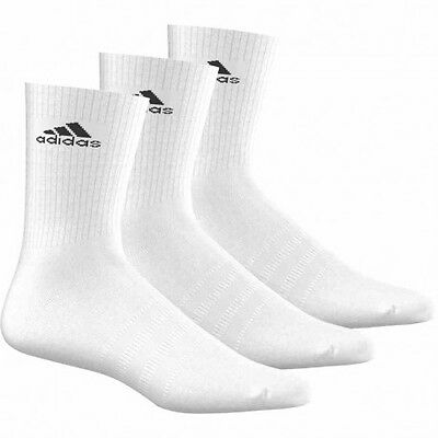Adidas Chaussettes Performance Crew (Blanc) - 3 paires
