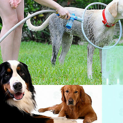 360 Degree Lovely Dog Washer Bath Shower Woof Washer Kit Pet Gently Clean Large