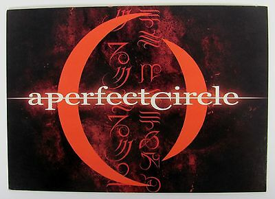 A Perfect Circle Collectible Retro Vintage Art Print Music Rock Band Postcard
