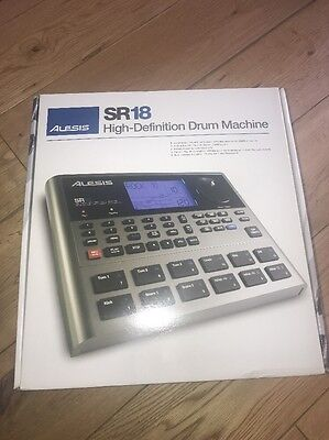 Alesis SR18 SR-18 Portable Drum Machine