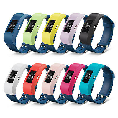 For Fitbit Charge 2 Silicone Sleeve Protector Case Screen Band Cover Designer